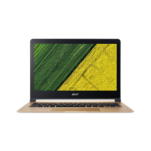 "Acer Swift 7 (SF713-51-M1GV) i5-7Y54/8GB+N/256 GB SSD+N/HD Graphics/13.3"" FHD IPS/BT/W10 Home/Black/Gold"