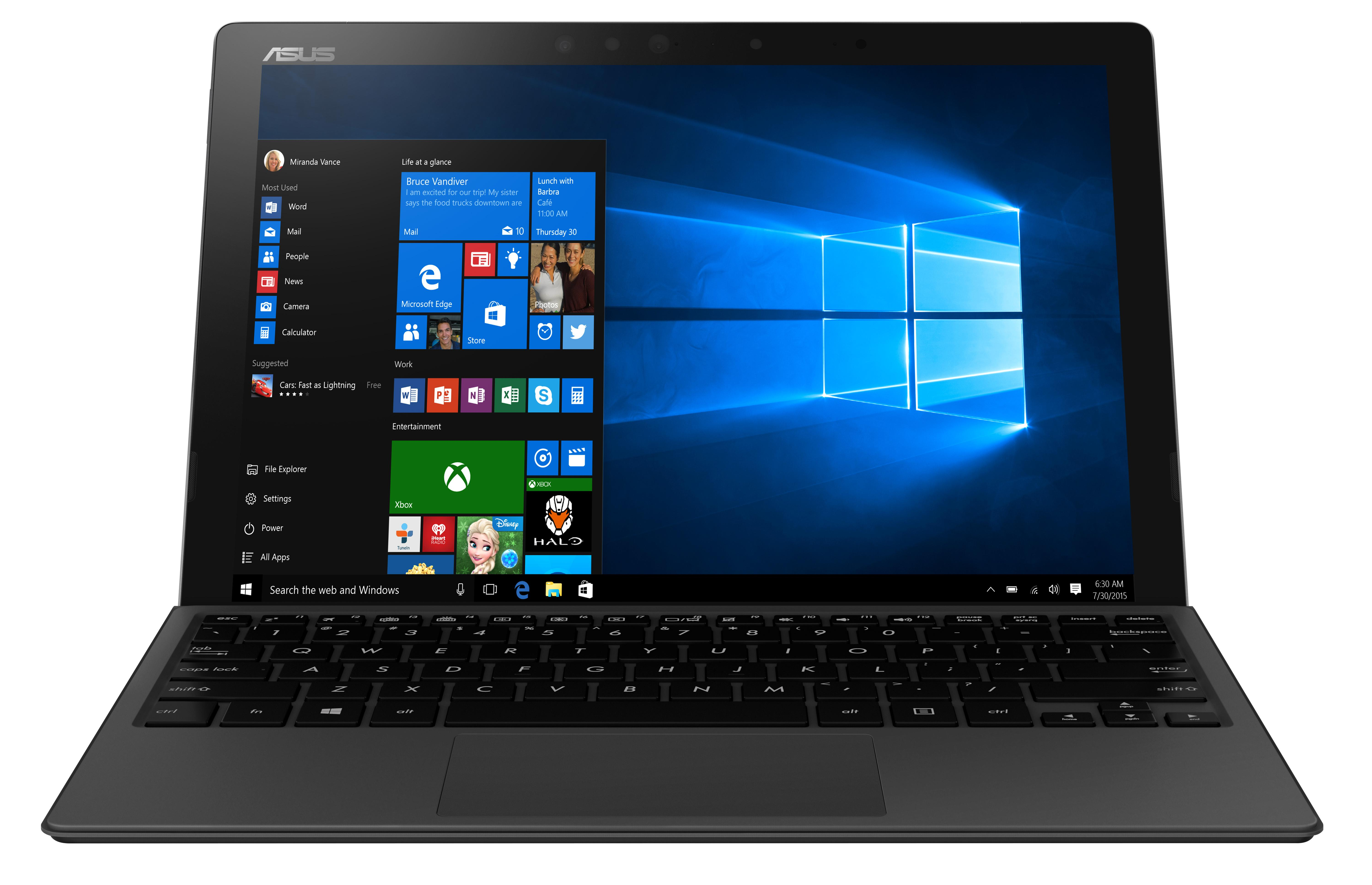 "ASUS 2in1 T303UA-GN028R/ i7-6500U/ 8GB/ 512GB SSD SATA3/ 12,6"" WQHD+ IPS Touch/ HD Graphics/ W10P/ šedý"