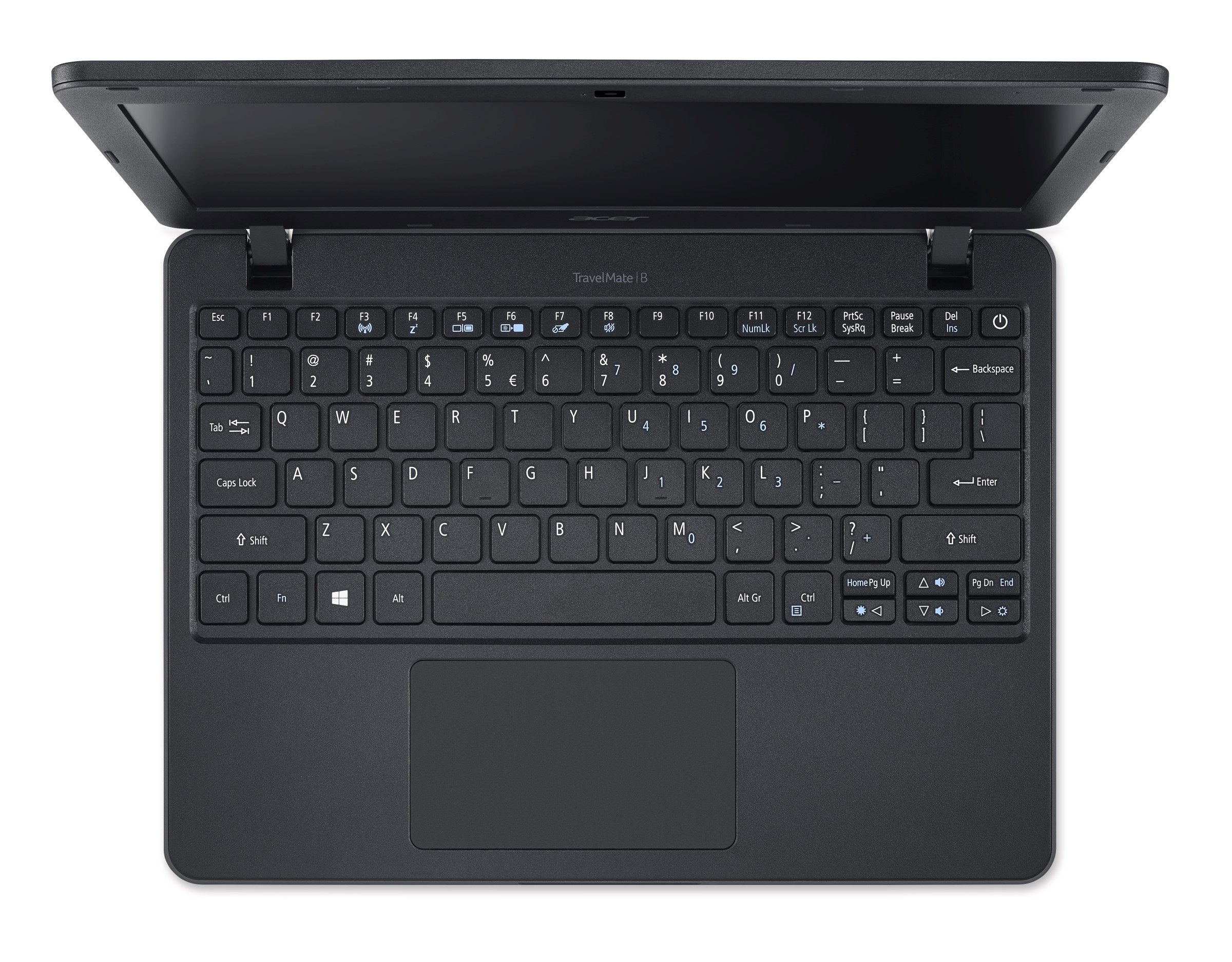 "ACER TMB117-M-C4GF / 11,6"" HD / Intel Celeron N3160 / 4GB DDR3 / 500GB HDD / WiFi / BT / USB 3.0 / Win 10 / Black"