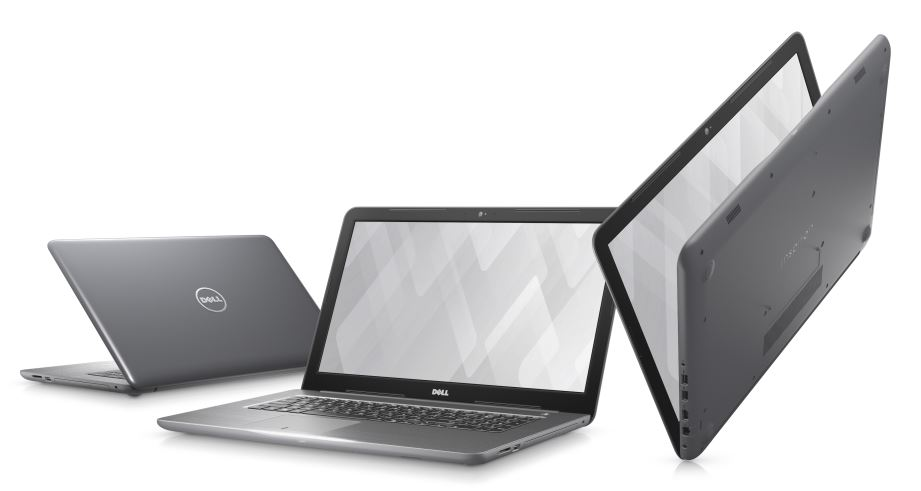 "DELL Inspiron 17 5000/ i7-7500U/ 16GB/ 2TB/ DVDRW/ AMD R7 M445 4GB/ 17.3"" FHD/ W10/ šedý/ 2YNBD on-site"