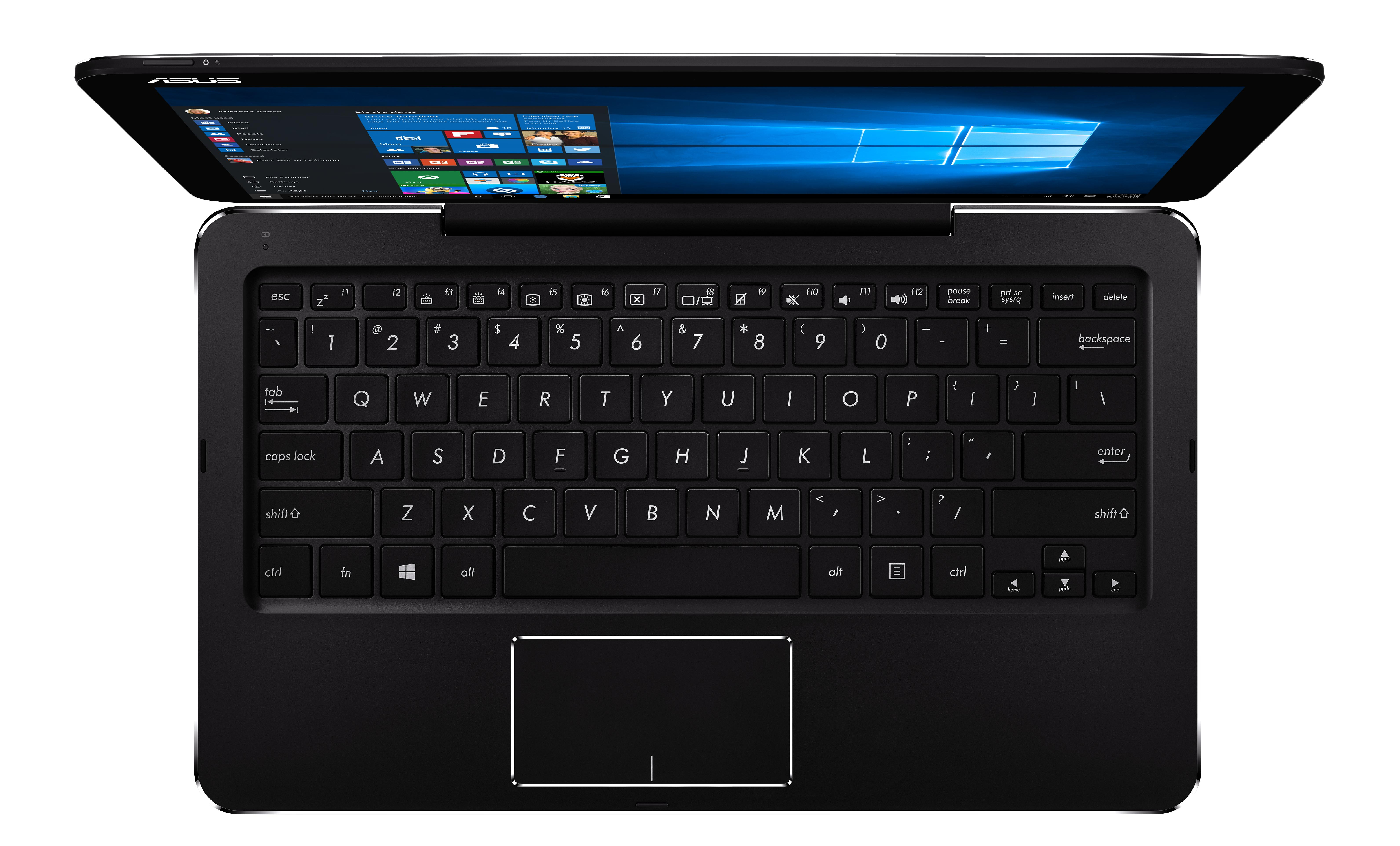 "ASUS 2in1 T302CA-FL038R/ M3-6Y30/ 8GB/ 512GB SSD SATA3/ 12,5"" FHD IPS Touch/ HD Graphics/ W10P/ černý"