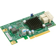 SUPERMICRO Supermicro add on card Low Profile 6.4Gb/s Dual-Port NVMe Internal Host Bus Adapter