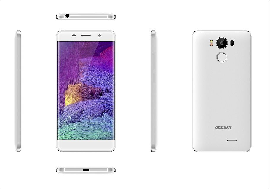 "Accent NEON bílý, 5"" HD IPS, Quad-core 1,3GHz, Android 6.0, 16GB ROM+2GB RAM,16MP Camera, 2300mAh, LTE"