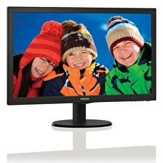 "PHILIPS 21,5"" LED 2223V5LSB2/ 1920x1080/ TFT/ 16:9/ 5ms/ 250cd/m2/ D-SUB/ VESA 100x100/ černý"