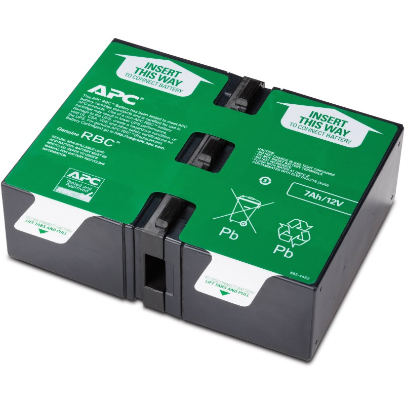 APC Replacement Battery Cartridge #123, BR900GI, BR900G-FR