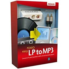 Roxio Easy LP to MP3 BOX - jazyk EN/FR/DE/ES/IT/NL
