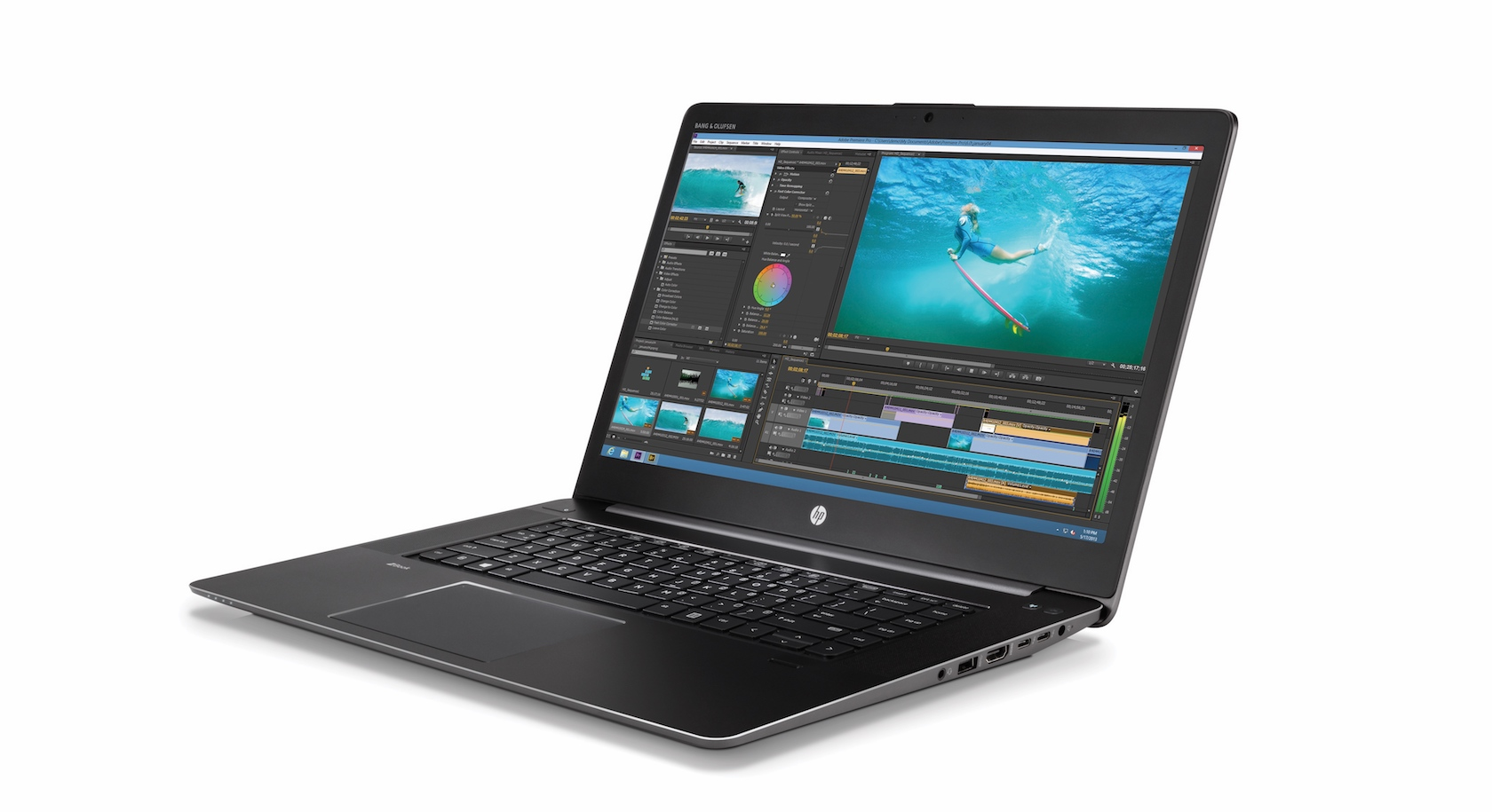 "HP Zbook 15 studio G3 i7-6700HQ/8GB/256 GB M.2/NVIDIA® Quadro® M1000M SE 4GB/15,6"" FHD/Win 10 Pro + Win 7 Pro"