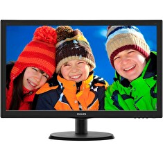"Philips 223V5LHSB/00 21,5"" LED 1920x1080 10 000 000:1 5ms 250cd HDMI černý"