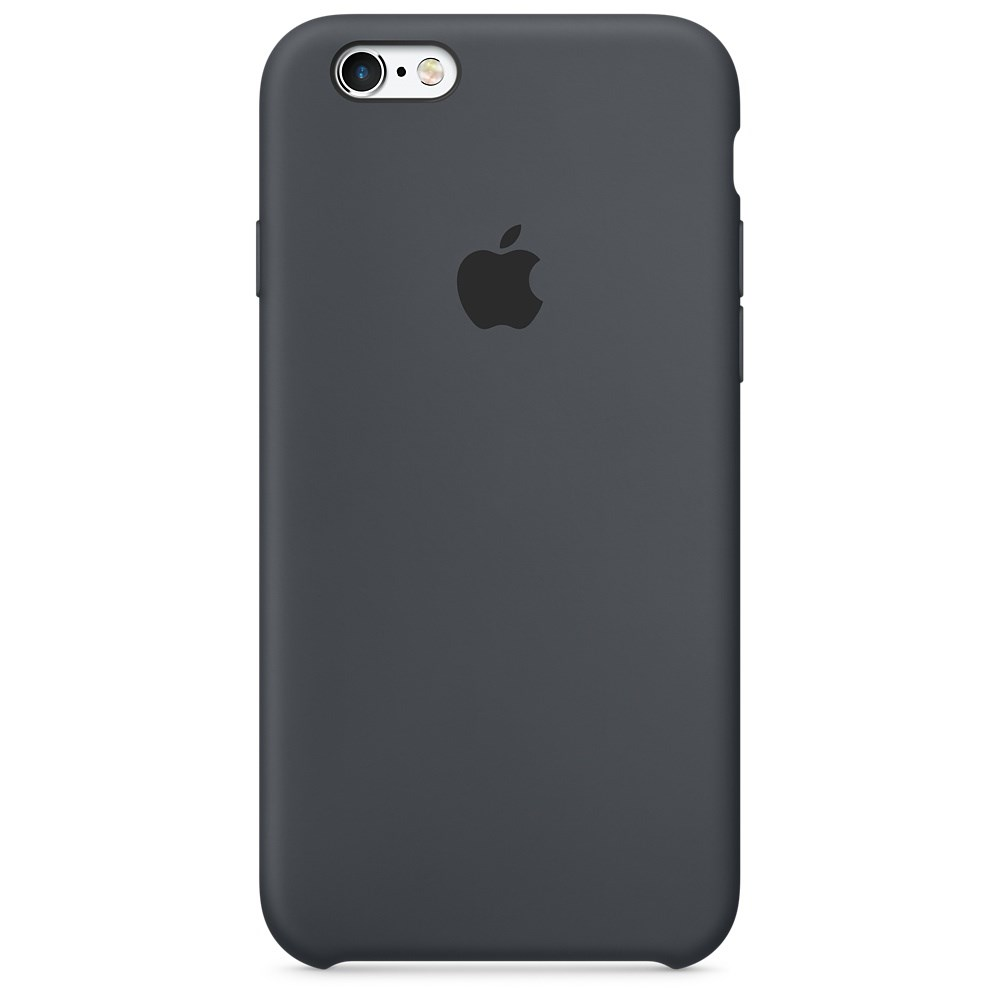 Apple Silicon case pro iPhone 6s, Charcoal Gray