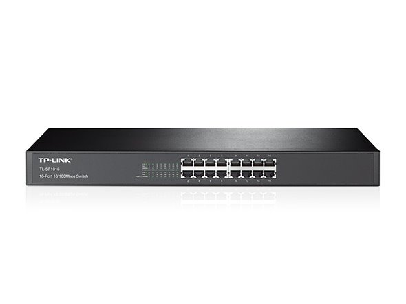"TP-Link TL-SF1016 Switch 16xTP 10/100Mbps 19""rackmount"