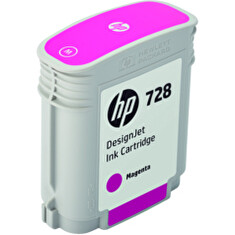 HP no 728 40-ml purpurová ink. kazeta