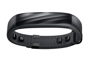 Jawbone UP3 wristband - Black Twist