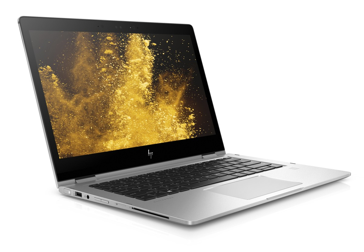HP EliteBook x360 1030 G2 i5-7200U 13.3 FHD UWVA Touch CAM, 8GB, 256GB PCIe NVMe, ac, BT, FpR, backlit keyb, Win10Pro