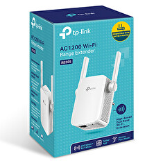 TP-Link RE305 Dual Band AC1200 Wireless Range Extender, 2 anteny,10/100