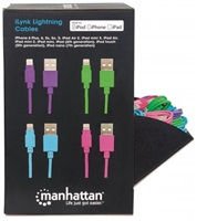 Manhattan Prodejní box 40x kabel Lightning / USB A Male, 1 m