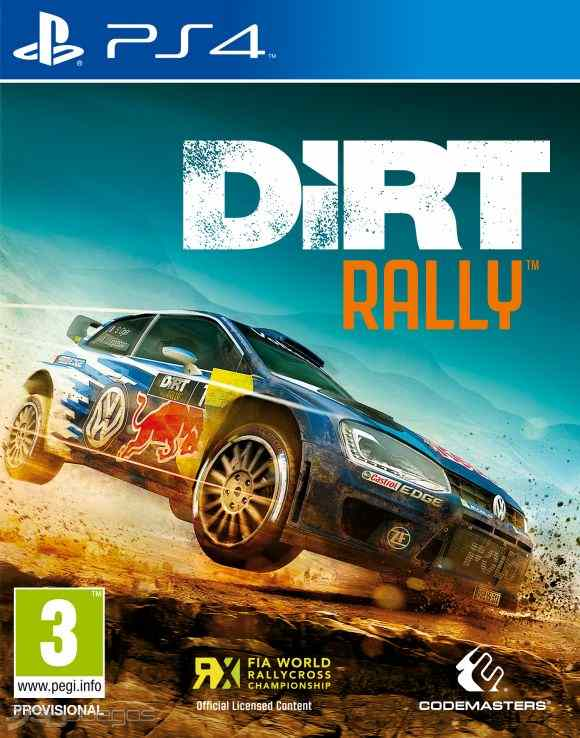 Codemasters PS4 hra DiRT Rally