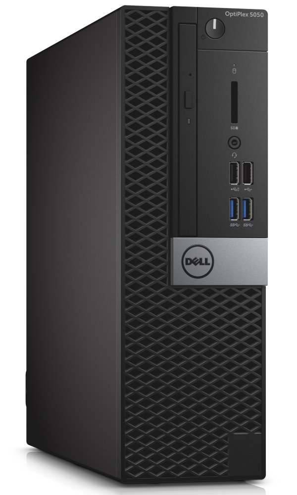 Dell PC Optiplex 5050 SF i5-7500/8G/500GB/DP/HDMI/DVD RW/W10P/3RNBD/Černý
