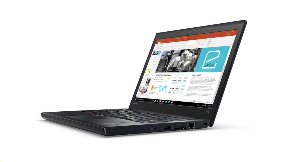 "Lenovo ThinkPad X270 i5-7300U/8GB/256GB SSD/HD Graphics 620/12,5""FHD IPS/4G/W10PRO/Black"