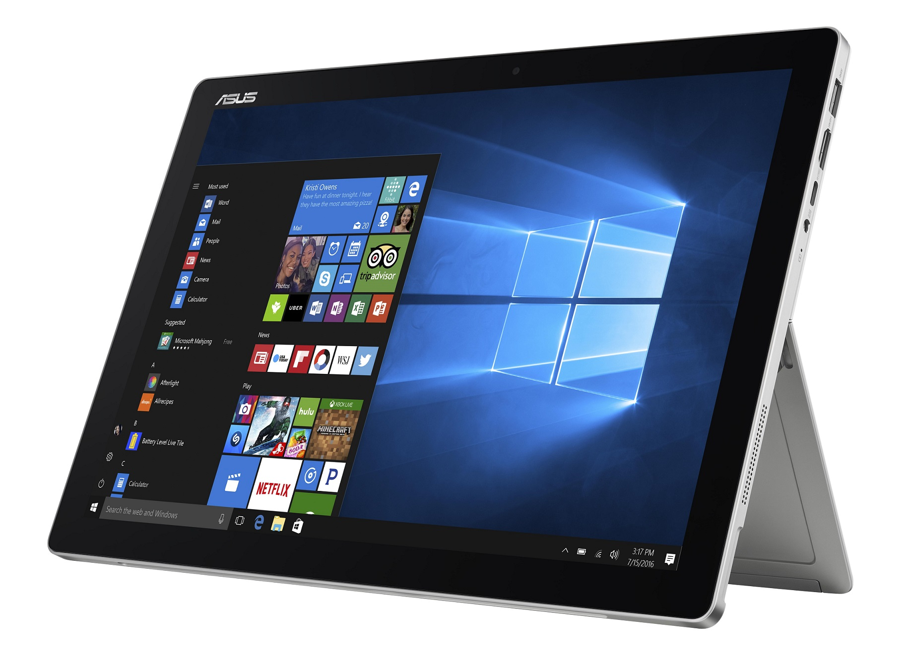 "ASUS T304UA-BC003R i5-7200U/8GB/256GB SSD/HD Graphics/12,6"" 2880x1620 IPS Touch lesklý/W10 Pro/Grey"