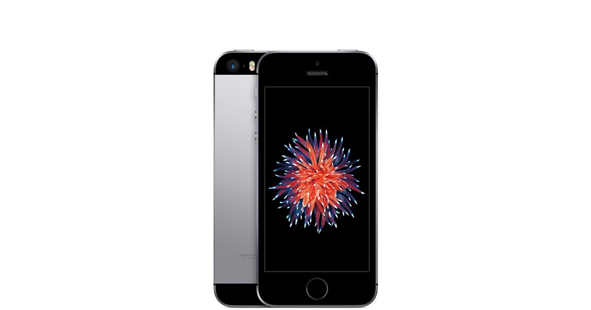 Apple iPhone SE 32GB, šedá