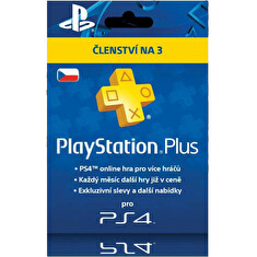 SONY PlayStation Plus Card Hang 90 dní (CZE)
