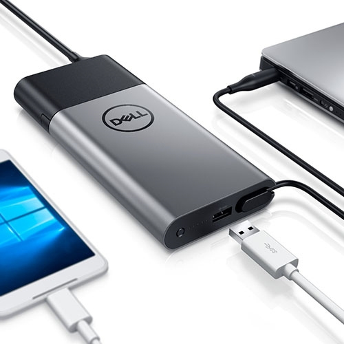 Dell hybridní adaptér + zdroj power bank USB | PH45W17-BA