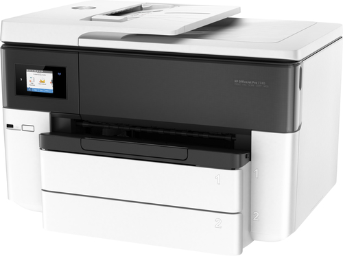 HP All-in-One Officejet 7740 Wide Format (A3+, 27/17 ppm, USB, Ethernet, Wi-Fi, Print/Scan/Copy/FAX)