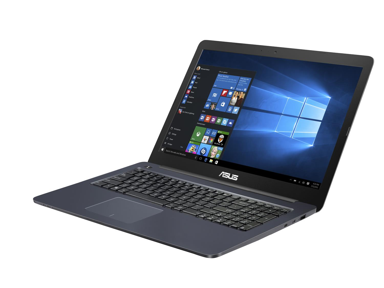 "Asus R517SA-XO211T - notebook 15.6"" (1366X768), Pentium N3710, 4GB DDR3, 1TB HDD, Intel HD, W10"