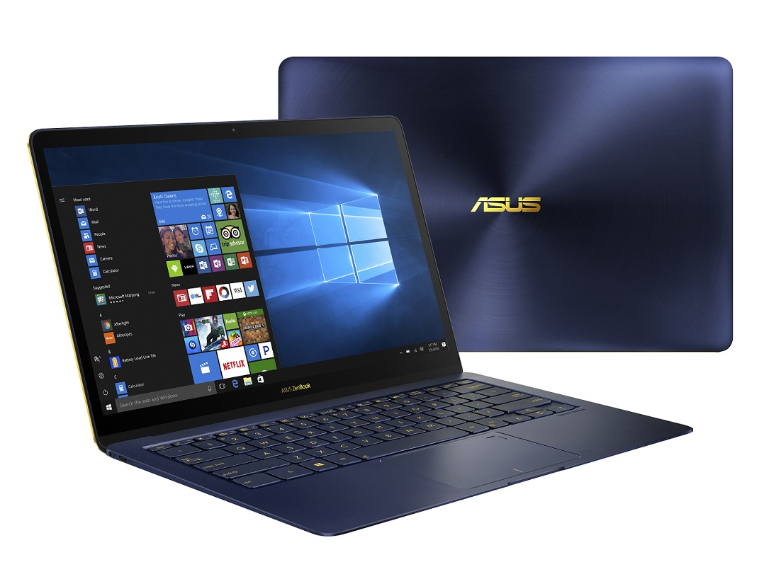 "ASUS UX490UA-BE012R i7-7500U/16GB/512 SSD M.2/HD graphics/14"" FHD LED lesklý IPS/W10 Pro/Blue"