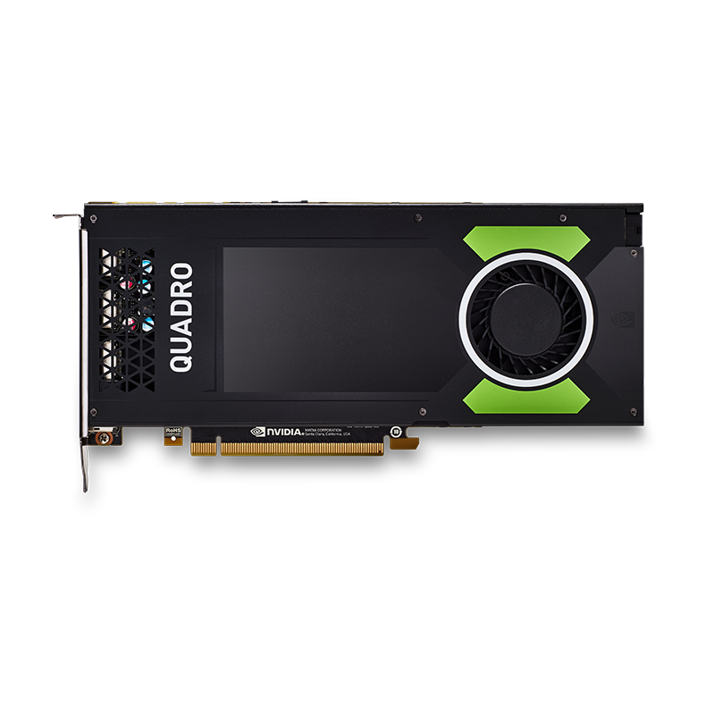 NVIDIA Quadro P4000 8GB GDDR5, PCIe 3.0 Card, 4x display port