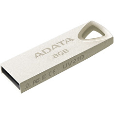 ADATA USB Flash Drive UV210 8GB USB 2.0, kovový