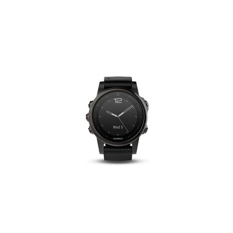 2f081e582 Garmin GPS chytré hodinky fenix5S Sapphire Gray Optic, Black band ...