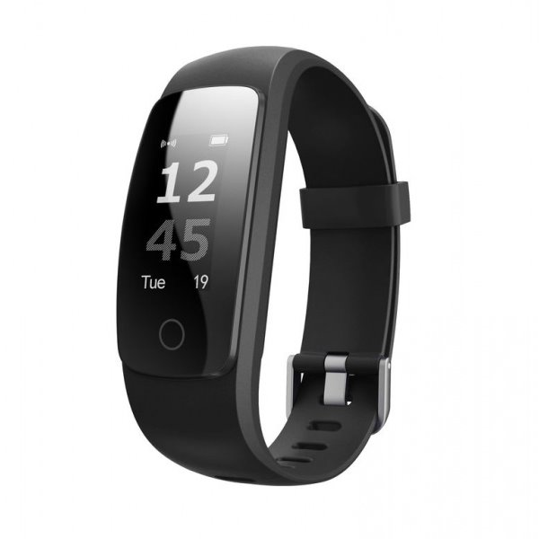 "UMAX chytrý náramek U-Band 107 Plus HeartRate/ 0.96"" OLED/ Bluetooth 4.0+EDR/ IPX65/ iOS 7.0 +/ Android 4.4 +/ černý"