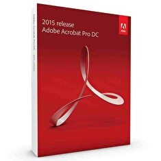 Adobe Acrobat Pro DC v2017, Win, Czech, Retail, 1 User