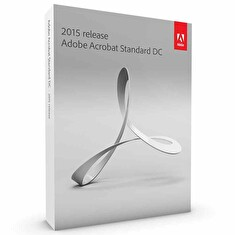 Adobe Acrobat Standard DC v2017, Win, Czech, Retail, 1 User