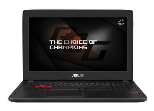 "ASUS GL502VM-FY165T i7-7700HQ/8GB+4GB/256GB SSD M.2+1TB 7200 ot./GeForce GTX1060/15.6"" FHD LED matný/W10 Home/Black"