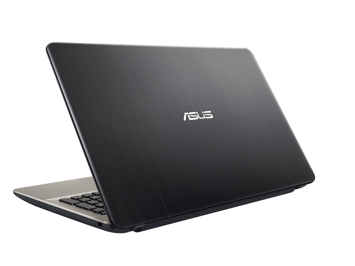 "ASUS X541UA-GQ1245T i3-6006U/4GB/1TB/DVDRW/HD graphics/15.6"" HD LED matný/W10 Home/Black/black&gold"