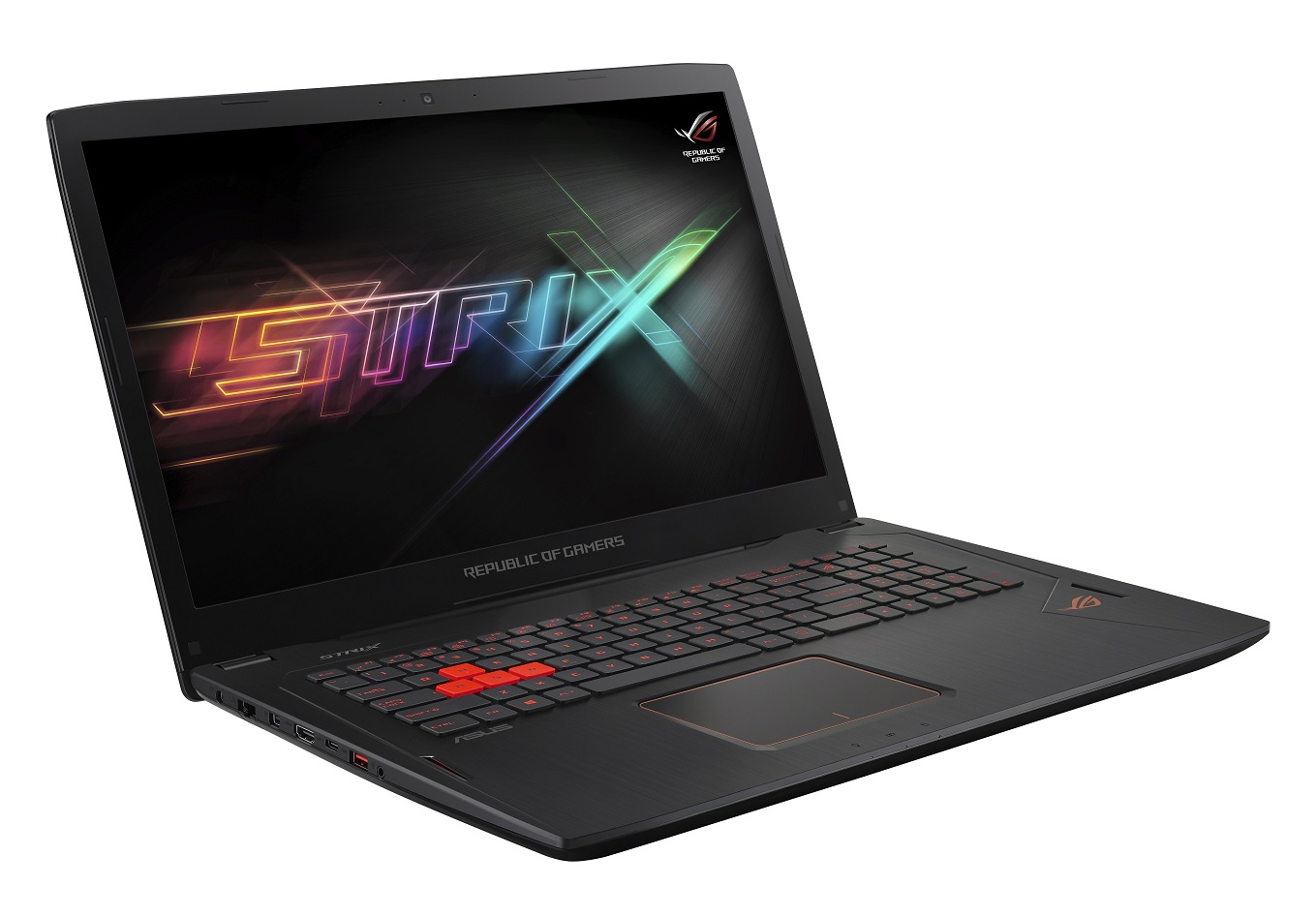 "ASUS GL702VM-GB155T i7-7700HQ/16GB/256GB SSD M.2+1TB 7200 ot./GeForce GTX1060/17.3"" UHD LED matný/W10 Home/Black"