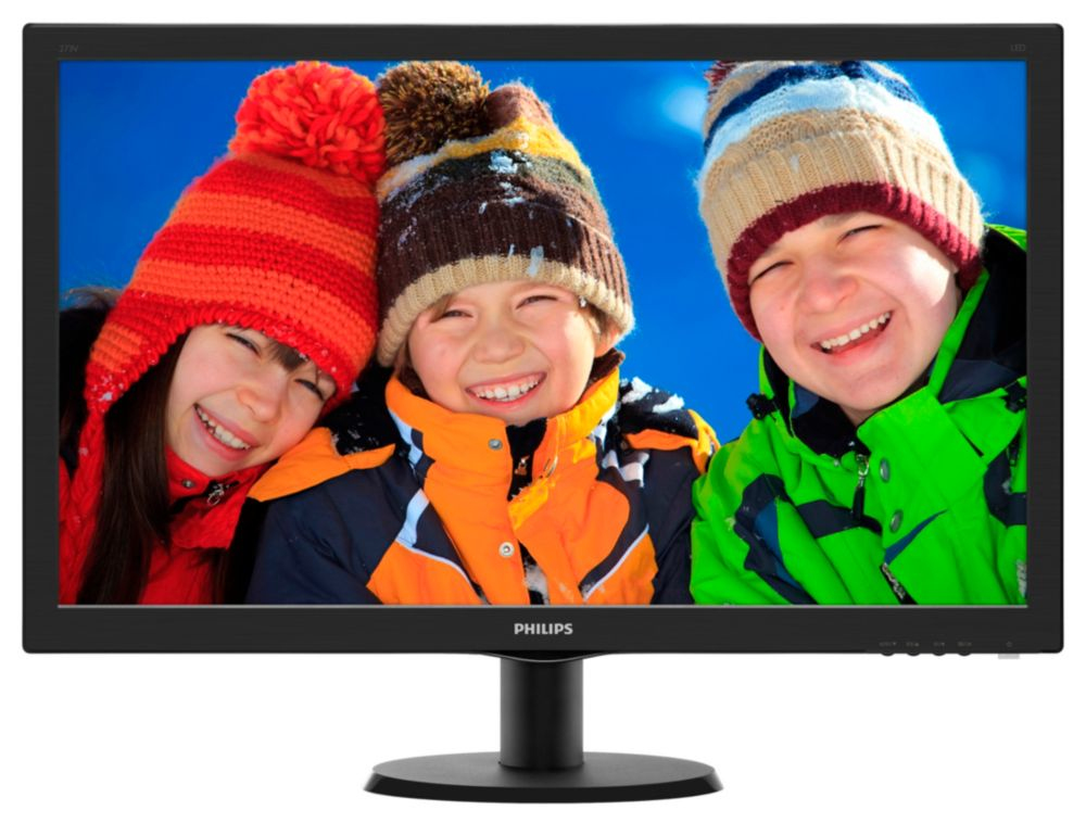 "Philips 273V5LHSB/00 27"" LED 1920x1080 20 000 000:1 5ms 300cd HDMI černý"