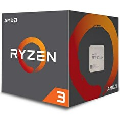AMD Ryzen 3 4C/4T 1200 (3,1GHz,10MB,65W,AM4) box with Wraith Stealth cooler