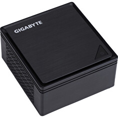 Gigabyte BRIX GB-BPCE-3350C (rev. 1.0) - Barebone - Ultra Compact PC Kit - 1 x Celeron N3350 / 1.1 GHz - HD Graphics 500 - GigE
