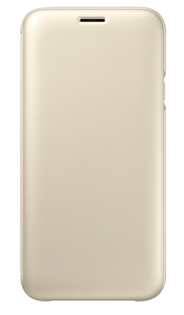 Samsung Wallet Cover J7 2017, gold