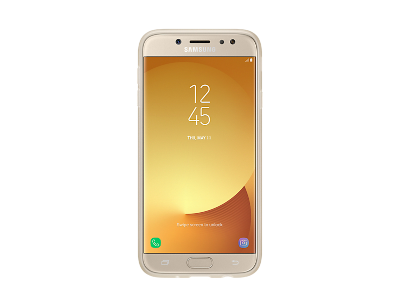 Samsung Jelly Cover J7 2017, gold