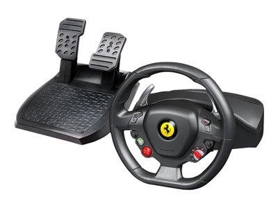 THRUSTMAST, FERRARI 458 RACING WHEEL for Xbox 360