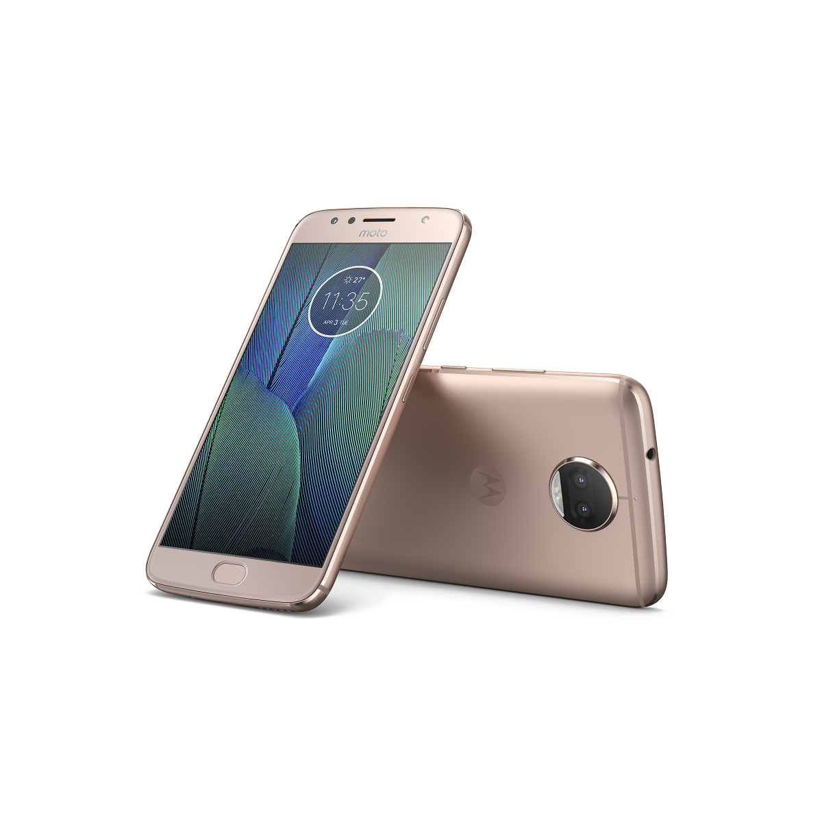 "Motorola Moto G5s Plus Dual SIM/5,5"" IPS/1920x1080/Octa-Core/2,0GHz/4GB/32GB/13Mpx/LTE/Android 7.0/Blush Gold"
