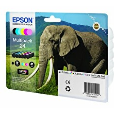Inkoust bundle Epson Multipack 6-colours 24 Claria Photo HD Ink | 29,1 ml