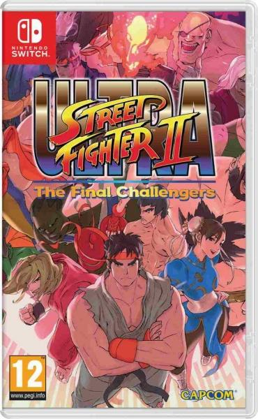 Nintendo SWITCH Ultra Street Fighter 2 The Final Challenger