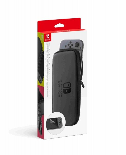 Nintendo Switch Carrying Case & Screen Protector