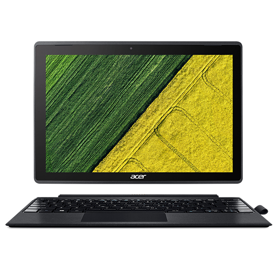 "ACER Aspire Tab Switch 3 - Celeron N3350@1.1GHz,12.2"" IPS dotyk. (1920x1200),4GB,64GB eMMC,intel HD,Wi-Fi,BT,čt.pk,W10H"