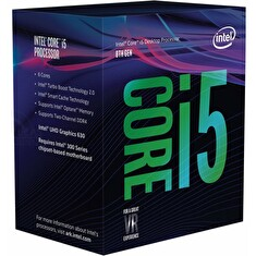 CPU INTEL Core i5-8400 2,8GHz 9MB L3 LGA1151, BOX